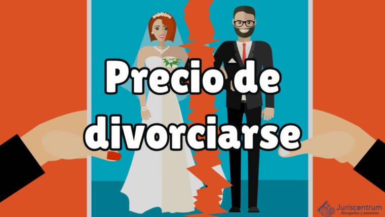 ¿Cuánto cuesta un divorcio?