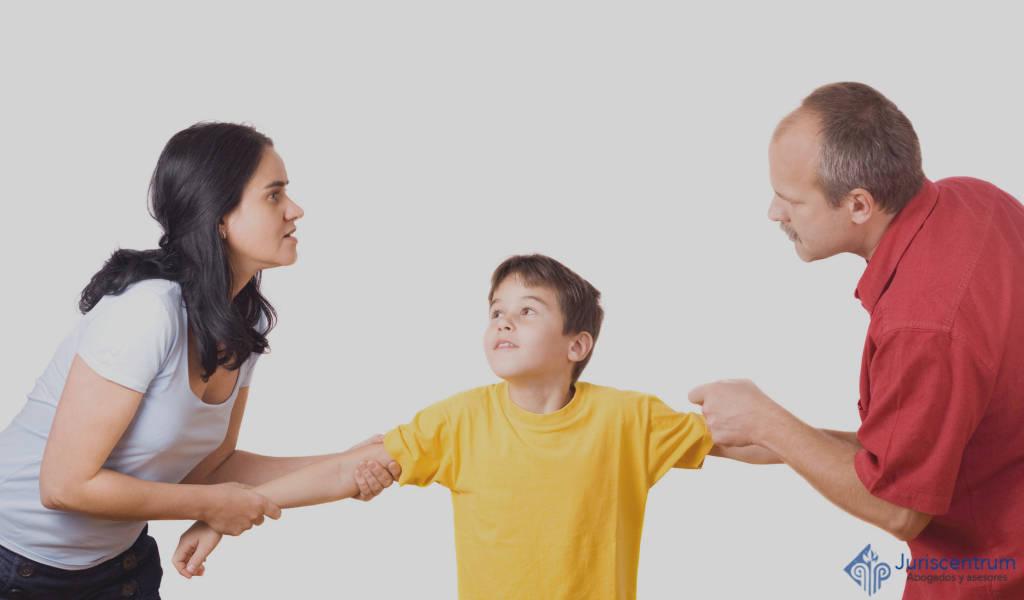 Separación con menores