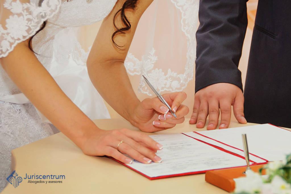 Capitulaciones matrimoniales antes del matrimonio